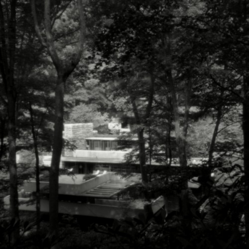 Fallingwater I, Bear Run, Pennsylvania, 1995